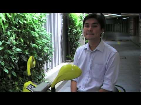 Test Driving an E-Max 90S electric scooter in Singapore.mpg