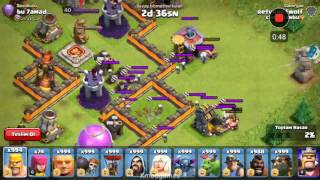 clash of clans cadı vs barbarlar