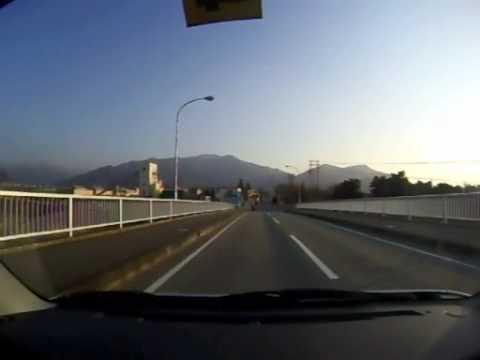 須坂市八幡から亀倉