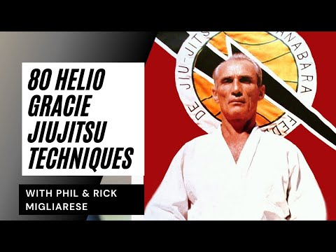 80 Techniques: Helio Gracie Tribute- Migliarese Bros. (BJJ Brazilian Jiu-Jitu Self Defense) Image 1