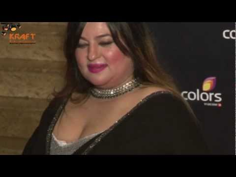 Dolly Bindra Bbw Appearance At Colors Awards video