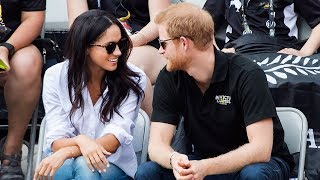 Prince Harry and Meghan Markle make Invictus Games appearance