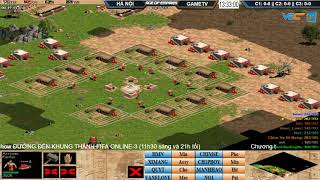 AoE 44 Random Hà Nội vs GameTv 30-10-2017