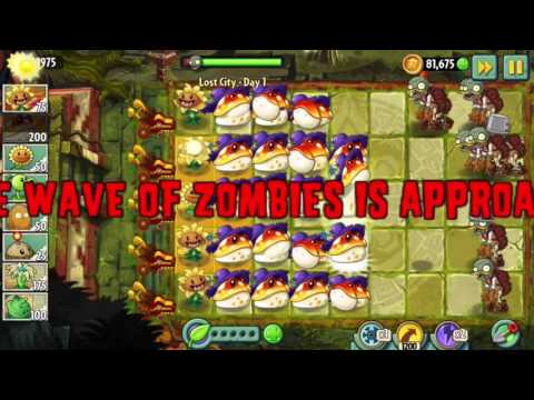 Plants vs. Zombies 2 Gameplay One Plant Power Up Vs Zombies PART 3
