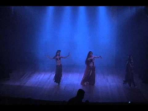 Thássia Camila  Danças Orientais - Abertura ( Todo Elenco )