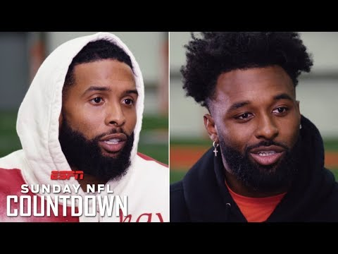 Odell Beckham Jr., Jarvis Landry on reunion, Browns39 hype, Baker Mayfield connection  NFL Countdown