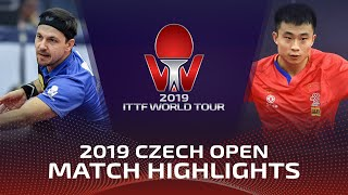 Xia Yizheng vs Timo Boll | 2019 ITTF Czech Open Highlights (R32)