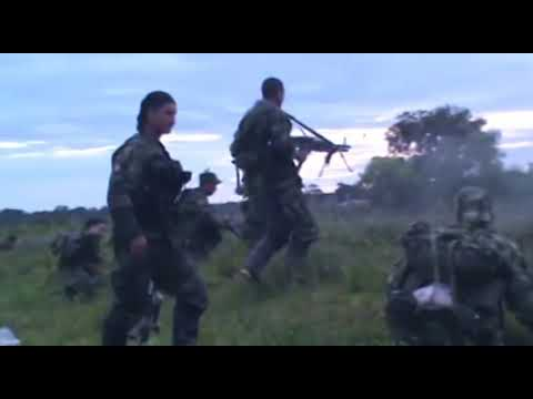 COMBATES GUERRILLA DE LA FARC Y EJERCITO EN ARAUCA