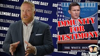 Mike Flynn is Seeking Immunity from Prosecution from FBI - #DollemoreDaily