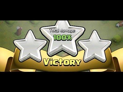 3 stars war attacks baghdad clan E13 - جميع هجمات حرب كلان بغداد 3 نجمات الحلقة 13
