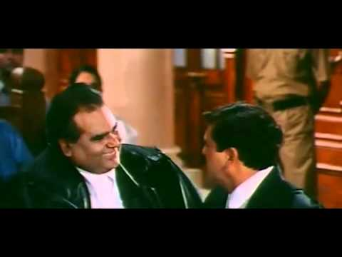 Kyo Kii Main Jhuth Nahin Bolta   Court Scene video