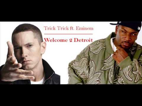Trick Trick ft. Eminem - Welcome 2 Detroit (clean bass ...
