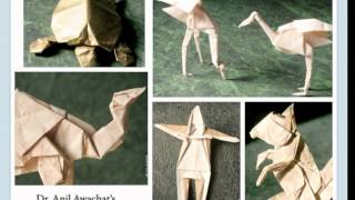 Dr. Anil Awachat's Origami Exhebition In Tokyo