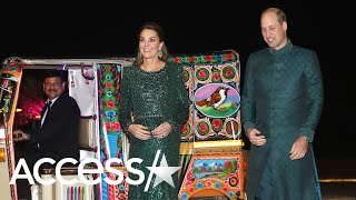 Kate Middleton Stuns In Jenny Packham As She Arrives To Event In A Tuk-Tuk!
