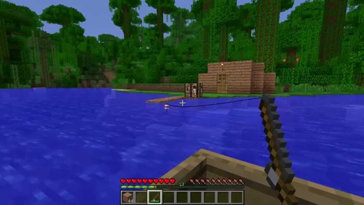 Tuto Minecraft Bateau et