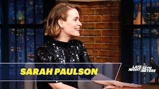 Sarah Paulson Dishes on Her Friendship with Rihanna