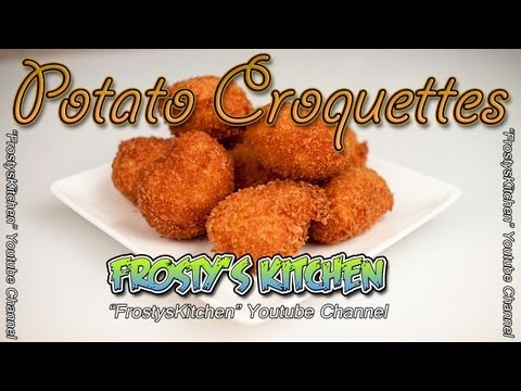 Potato Croquettes   Fried Potato Balls Recipe