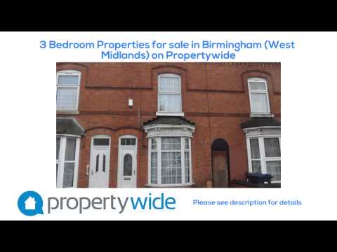 3 Bedroom Properties for sale in Birmingham (West Midlands) on Propertywide