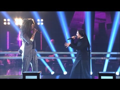 The Voice It | Serie 2 | Battle 1 | Suor Cristina Scuccia Vs Luna Palumbo video