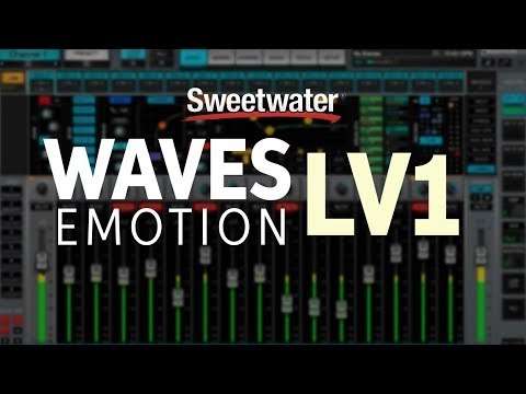 Waves eMotion LV1  Mixing Software Overview