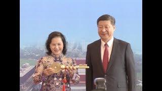 Chinese President Xi Jinping Inaugurates Vietnam-China Friendship Palace