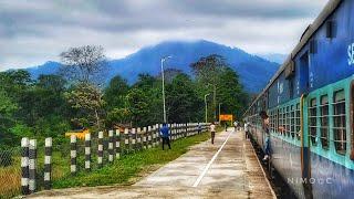 Dooars Journey in MONSOON   NJP TO ALIPURDUAR by Ranchi Kamakhya Express   MAJESTIC DOOARS