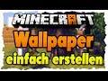 Minecraft Wallpaper einfach erstellen - Tutorial | Novaskin.me [Deutsch|HD+]