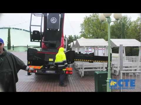 High Range truck-mounted platform B-LIFT 620