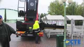 High Range truck-mounted platform B-LIFT 620