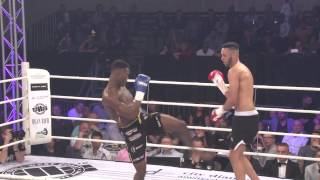 Zondag 12 April - 2015 - World Fighting League - Ibrahim el Bouni vs Clyde Brunswijk