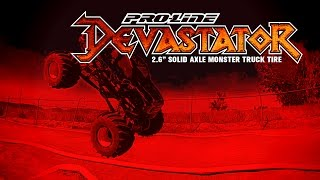 "Pro-Line Devastator 2.6"" Solid Axle Monster Truck Tire"