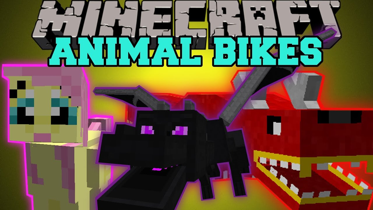 Dragon Bikes Minecraft Mod Minecraft ANIMAL BIKES RIDE