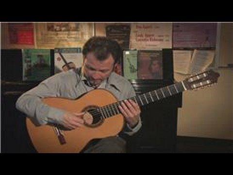 Classical Guitar Lessons : Flamenco Guitar Basics