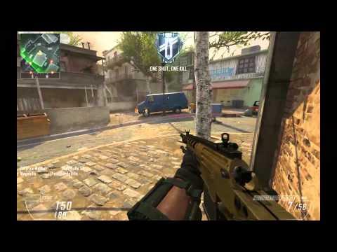 Blops2 GunGame - Slums Close Game