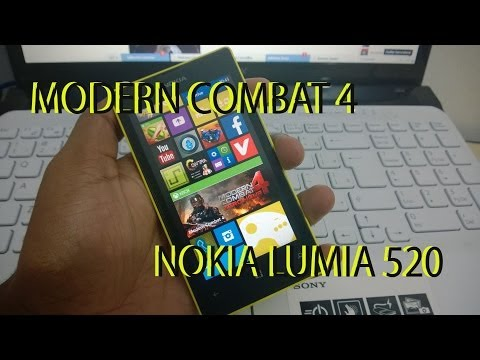 Modern Combat 4 pra 512 RAM Windows Phone 8 Português!