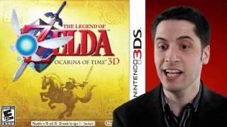 Legend of Zelda: Ocarina of Time 3D game review