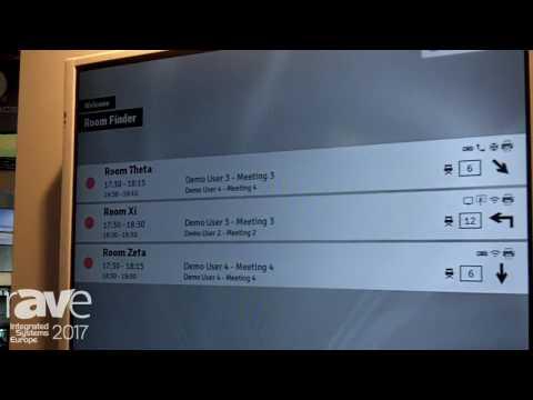 ISE 2017: GoGet Exhibits Room Finder Software for Digital Display