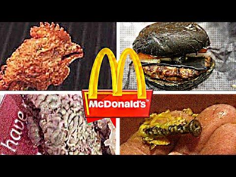 10 Cosas ASQUEROSAS Encontradas en Comidas de McDonald's