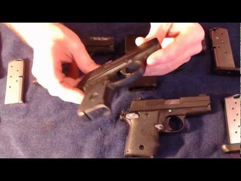 Ruger LCP vs Sig P238 vs Sig P938 vs Beretta Nano - Concealed carry comparisons