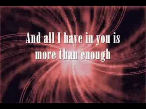 Enough by Jeremy Camp