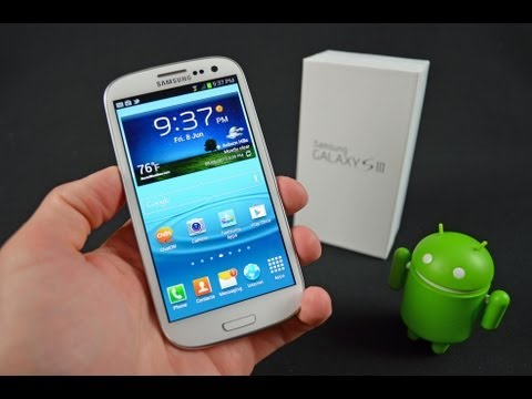 Samsung Galaxy S III: Unboxing & Review (3)