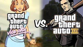 GTA Vice City vs. GTA III- POTI ZBURA IN GTA 3?!?