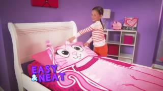 ZippySack   No more messy kids beds! No more cold uncovered nights!