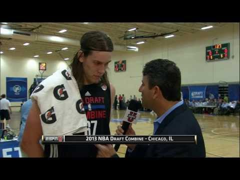 Kelly Olynyk at the NBA Draft Combine 2013