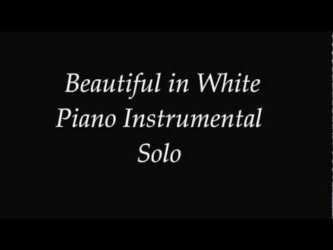 Shane Filan Beautiful In White - Piano Instrumental Solo [easy Version] Cover.wmv video