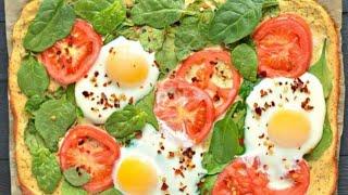 Paleo Breakfast Pizza - paleo breakfast pizza recipe to help you burn fat