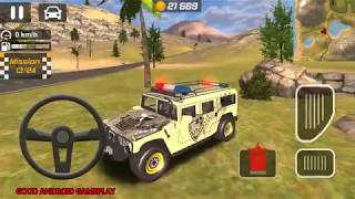 Police Drift Car Driving Simulator #7 - Special Edition Police HUMMER Android GamePlay FHD