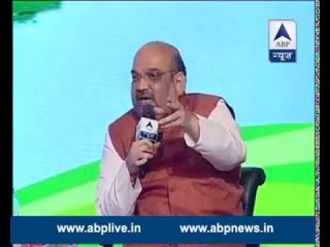 FULL VIDEO: Amit Shah speaking at ABP News' Shikhar Sammelan