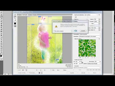 Uso de la herramienta sector de Photoshop
