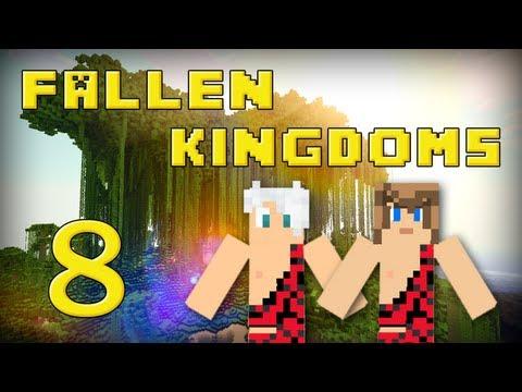 fallen kingdoms 2 : frigiel & ectalite | jour 8 - minecraft